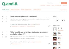 qanda.sofarider.com