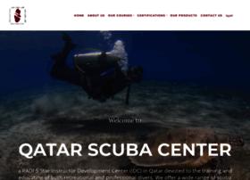 qatarscubacenter.com