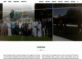 qatarsustainabilityweek.com