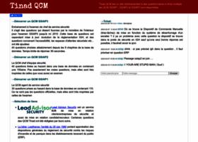 qcm.tinad.fr