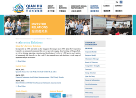 qianhu.listedcompany.com
