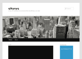 qikysyq.wordpress.com