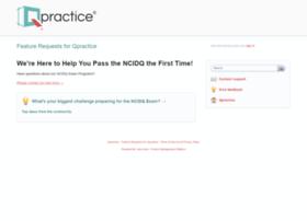 Qpractice.uservoice.com
