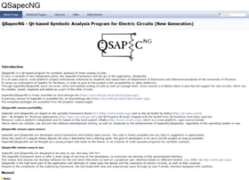 qsapecng.sourceforge.net