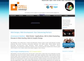 qtellwebdesign.com