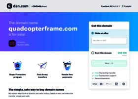 quadcopterframe.com