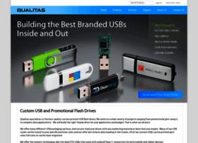 qualitasflashdrives.com