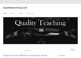 qualityteaching.net