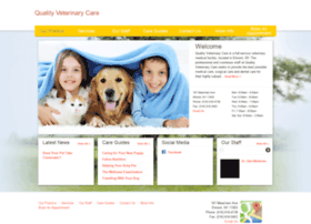 qualityveterinarycare.vetsuite.com