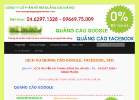 quangcaogooglefacebook.com