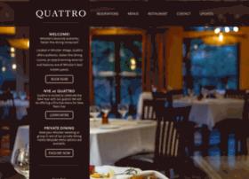 quattrorestaurants.com