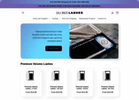qubeelashes.com