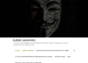 quebecanonymes.com