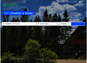 quebeclocationdechalets.com