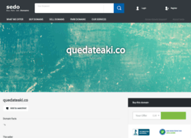 quedateaki.co