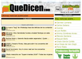 quedicen.com