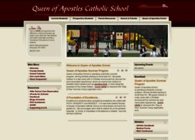 queenofapostlesschool.net