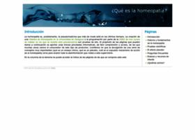 queeslahomeopatia.com