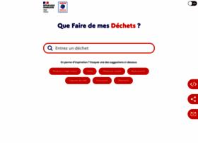 quefairedemesdechets.fr