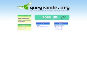 quegrande.org