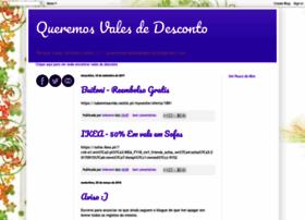 queremosvalesdedesconto.blogspot.com.br