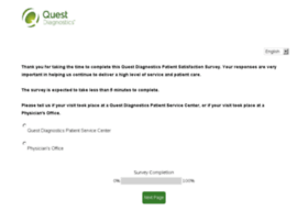 Questdiagnosticsfeedback.com