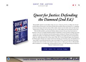 questforjusticethebook.com