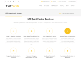 questions-answers.topgre.com