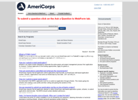 questions.nationalservice.gov