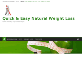 quick-and-easy-natural-weight-loss.com