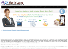 quick24monthloans.co.uk