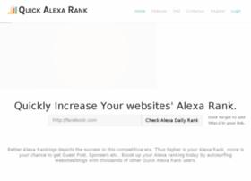 quickalexarank.com
