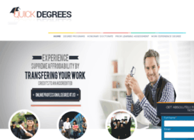 quickdegrees.net