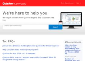 quickencommunity.com