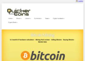 quickercoins.com