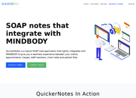 quickernotes.com