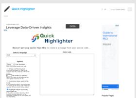 quickhighlighter.com