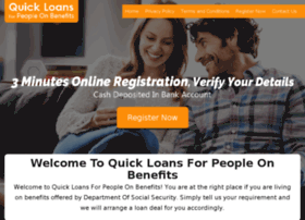quickloansforpeopleonbenefits.org.uk