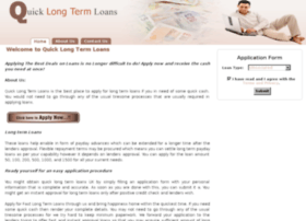 quicklongtermloans.co.uk
