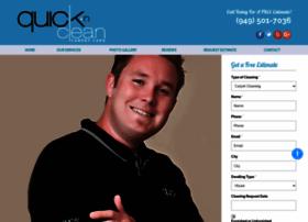 quickncleancarpet.com