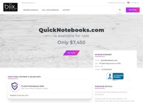 quicknotebooks.com