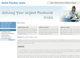 quickpaydayloans.me.uk