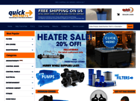 quickspaparts.com