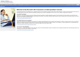 quickstart.developerfusion.co.uk