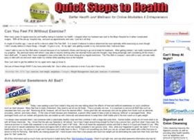 quickstepstohealth.com