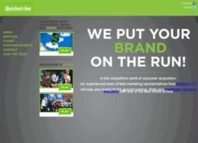 quickstrikefieldmarketing.com