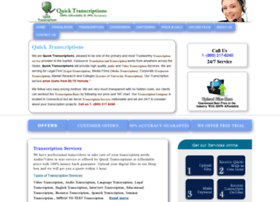 quicktranscriptions.com