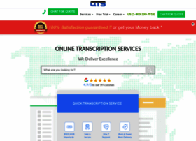 quicktranscriptionservice.com