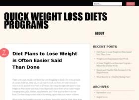 quickweightlossdietsprograms.wordpress.com
