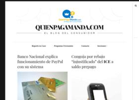 quienpagamanda.com